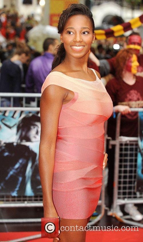 Jamelia World Premiere of Harry Potter And The...