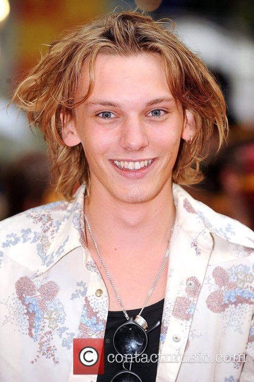 Jamie Campbell Bower World Premiere of Harry Potter...