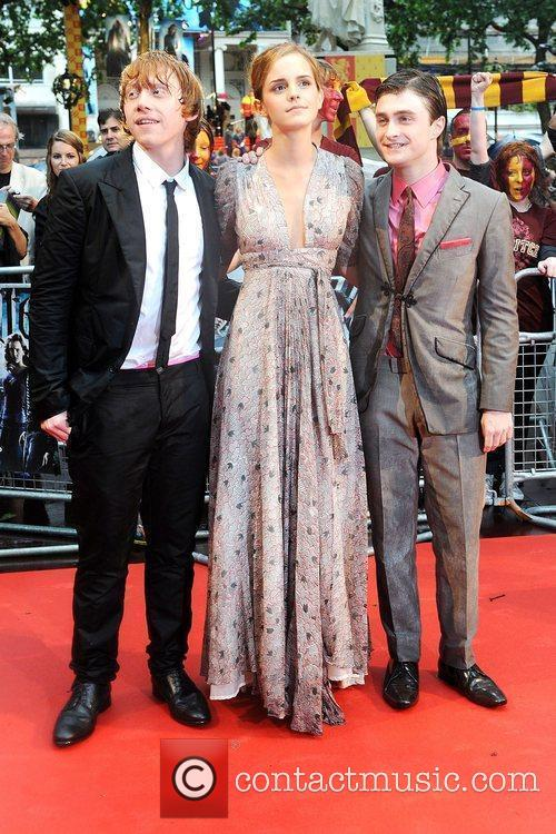 Rupert Grint, Emma Watson, Harry Potter and Empire Leicester Square 7