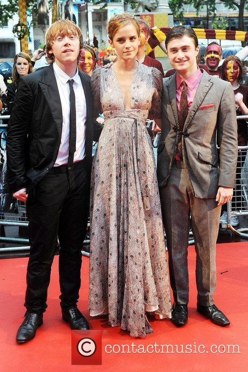 Rupert Grint, Emma Watson, Harry Potter and Empire Leicester Square 6