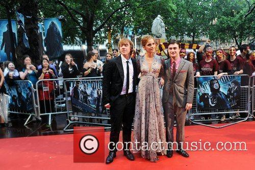 Rupert Grint, Emma Watson, Harry Potter and Empire Leicester Square 1