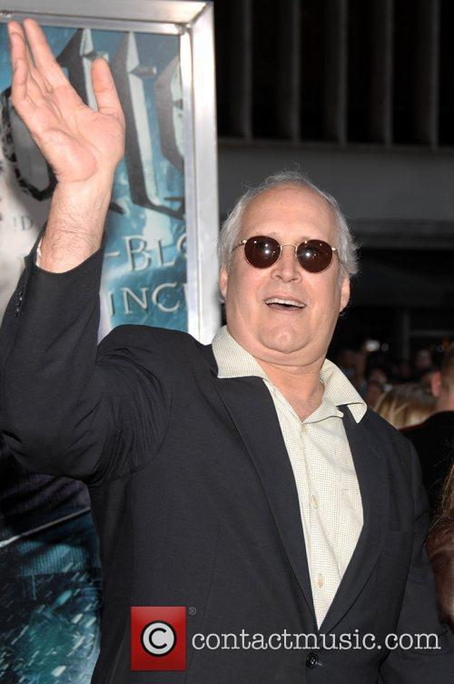 Chevy Chase, Harry Potter and Ziegfeld Theatre 5