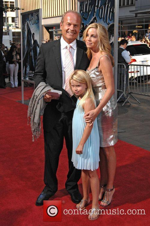 Kelsey Grammer, Camille Grammer, Harry Potter and Ziegfeld Theatre 1