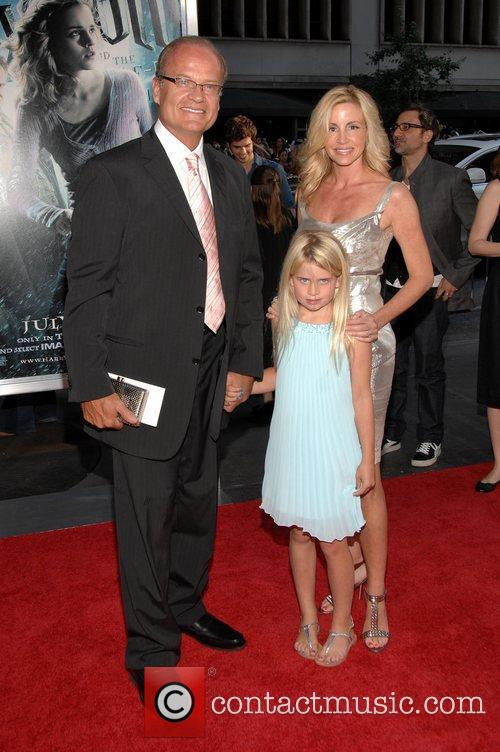 Kelsey Grammer, Camille Grammer, Harry Potter and Ziegfeld Theatre 3