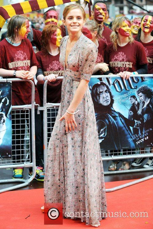 Emma Watson, Harry Potter and Empire Leicester Square 8