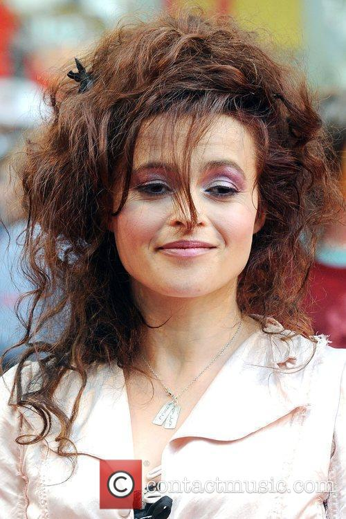 Helena Bonham-Carter World Premiere of Harry Potter And...