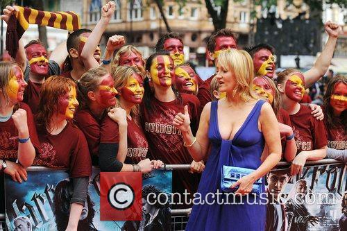 JK Rowling World Premiere of Harry Potter And...