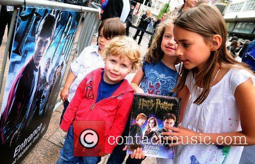 Attend the launch of the 'Harry Potter and...