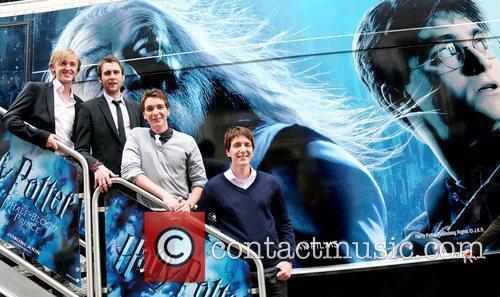 Tom Felton and Harry Potter 5