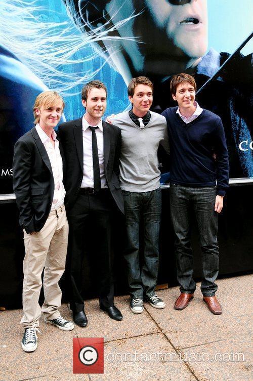 Tom Felton and Harry Potter 11