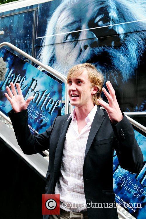 Tom Felton and Harry Potter 3