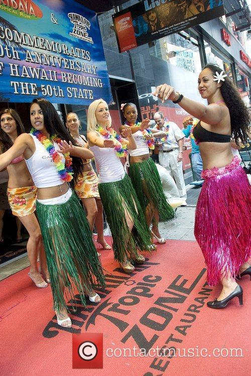 Atmosphere Hawaii's 50th Anniversary Celebration at Hawaiian Tropic...