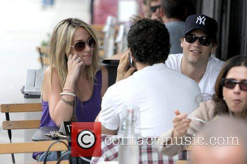 Haylie Duff and her boyfriend Nick Zano have...