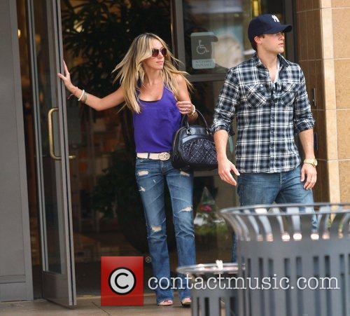 Haylie Duff and Boyfriend Nick Zano Shopping In Hollywood 4