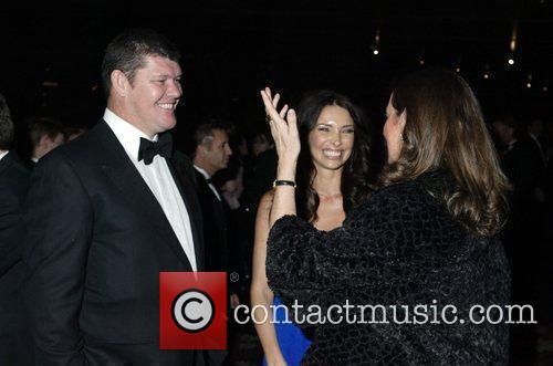 James Packer, Erica Packer and Jane Ferguson 1