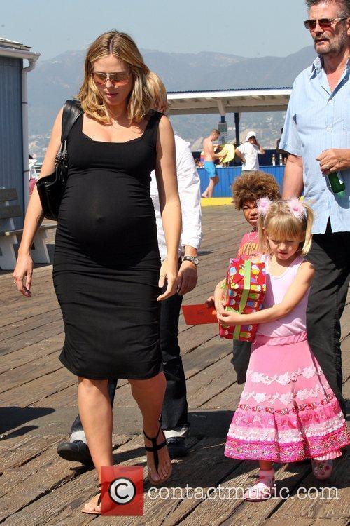 Heidi Klum, Santa Monica Pier