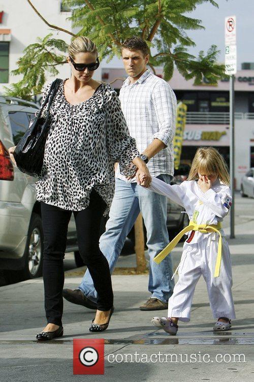 Heidi Klum and Leni 10
