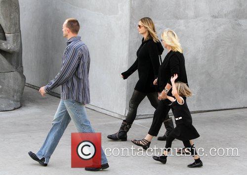 Heidi Klum, Erna Klum and Leni Klum 3