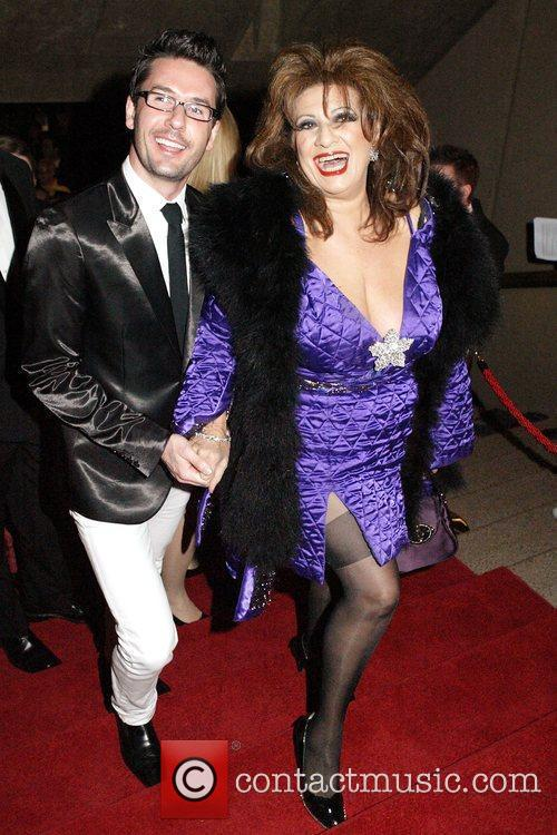 Maria Venuti and guest The Helpmann 2009 Awards...