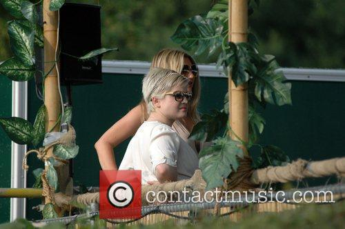 Kelly Osbourne and Luke Worrall attend the Henley...