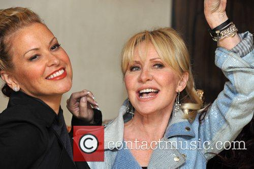 Anastacia and Lulu The launch of 'Here Come...