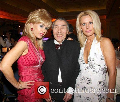 Sally Farmiloe, Burt Kwouk and Tricia Walsh-smith 7