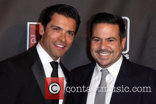Mark Consuelos and Narciso Rodriguez The AID FOR...