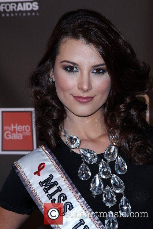 Miss Universe Stefania Fernandez The AID FOR AIDS...