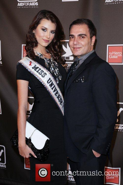 Miss Universe Stafania Fernandez and Guest The AID...