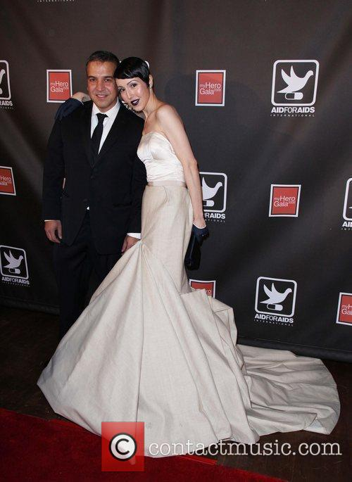 Narciso Rodriguez and Guest The AID FOR AIDS...