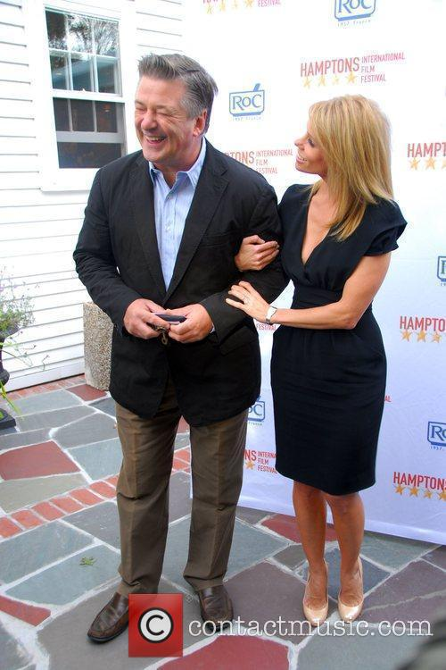 Alec Baldwin and Cheryl Hines 1
