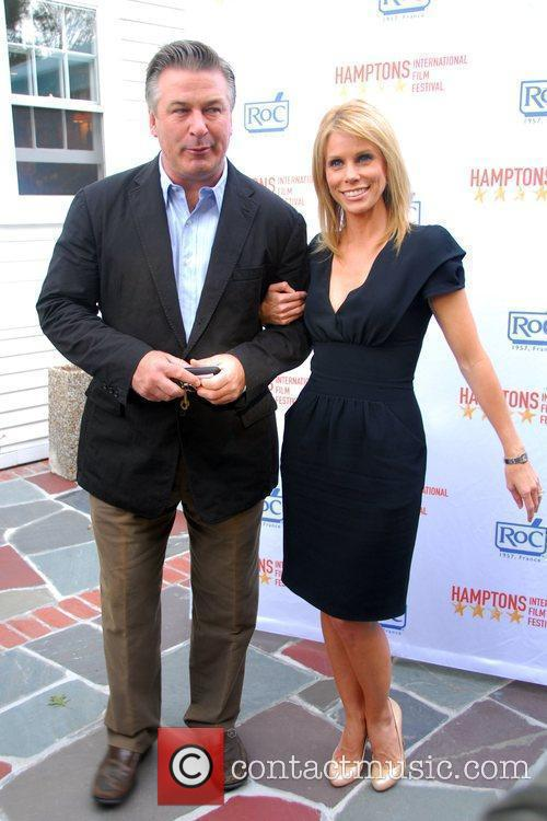 Alec Baldwin and Cheryl Hines 2