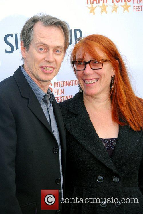 Steve Buscemi with Jo Andres The 17th Annual...