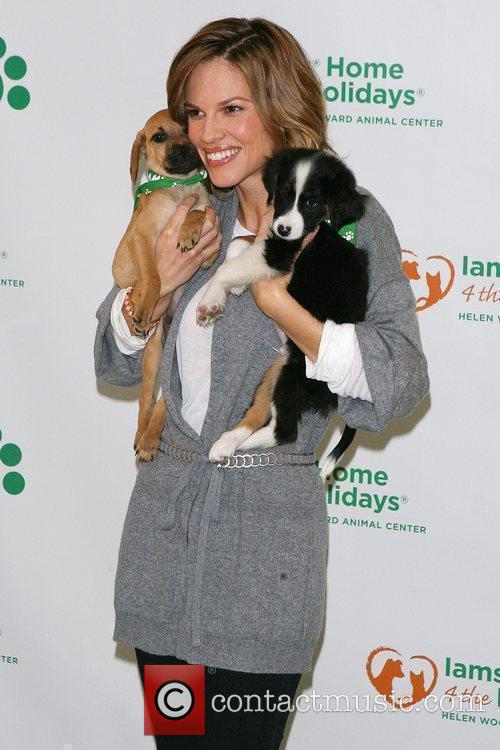 Hilary Swank partners with Iams to raise awareness...