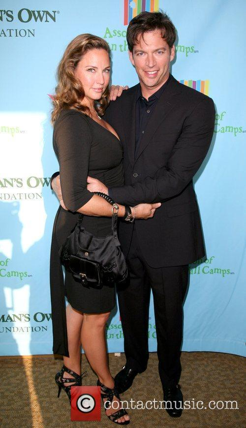 Harry Connick Jr. and wife Jill Goodacre at...