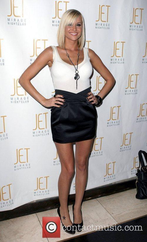Holly Madison celebrates her birthday at Jet nightclub...