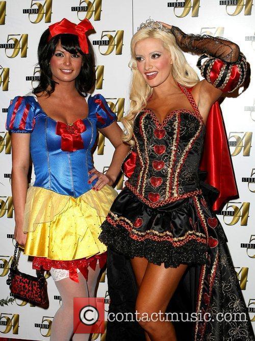Holly Madison and Laura Croft Studio 54 Celebrates...