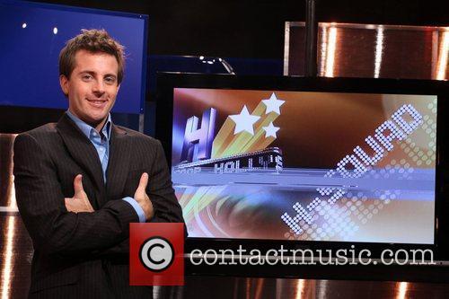 Brian Corsetti on the studio set of the...