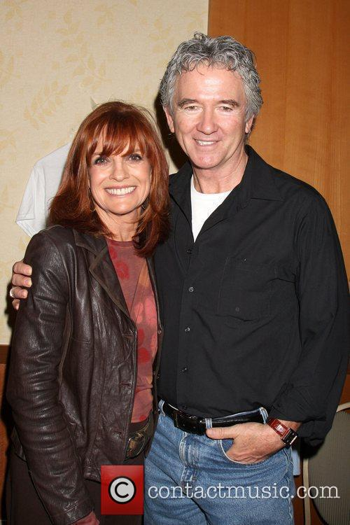 Linda Gray and Patrick Duffy