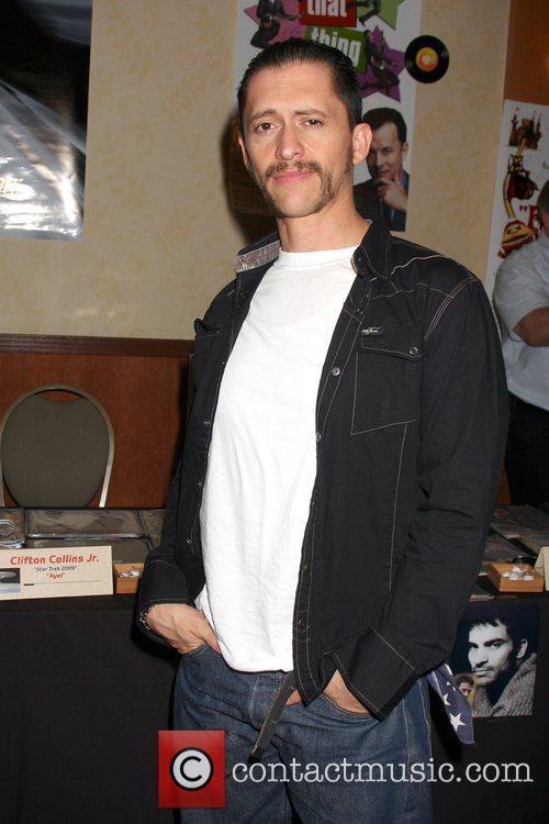 Clifton Collins Jr. at the Hollywood Collector's Show...
