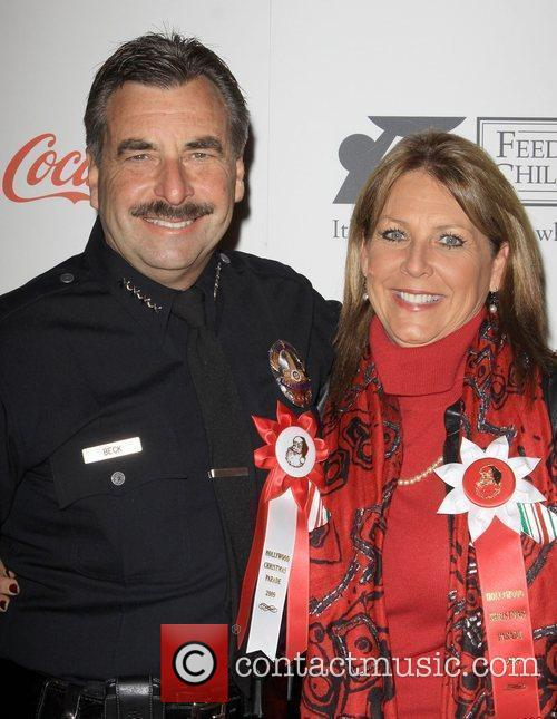 LAPD Chief Charlie Beck and Cindy Beck The...