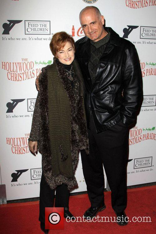 Carolyn Hennesy and Guest The 2009 Hollywood Christmas...