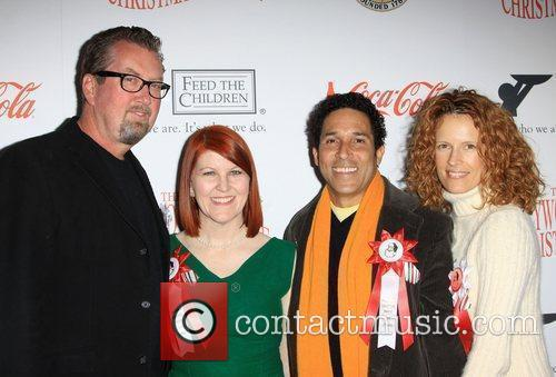 Chris Haston, Kate Flannery and Oscar Nunez 2