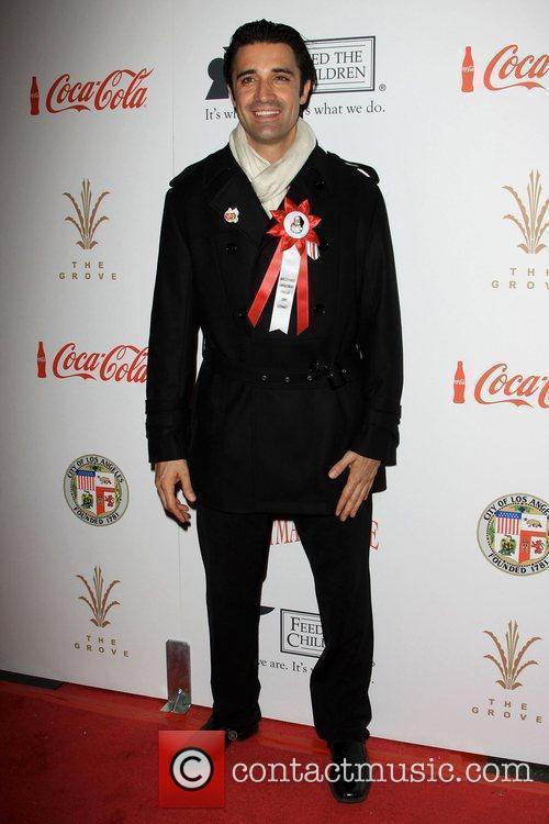 Gilles Marini The 2009 Hollywood Christmas Parade/Live Positively...