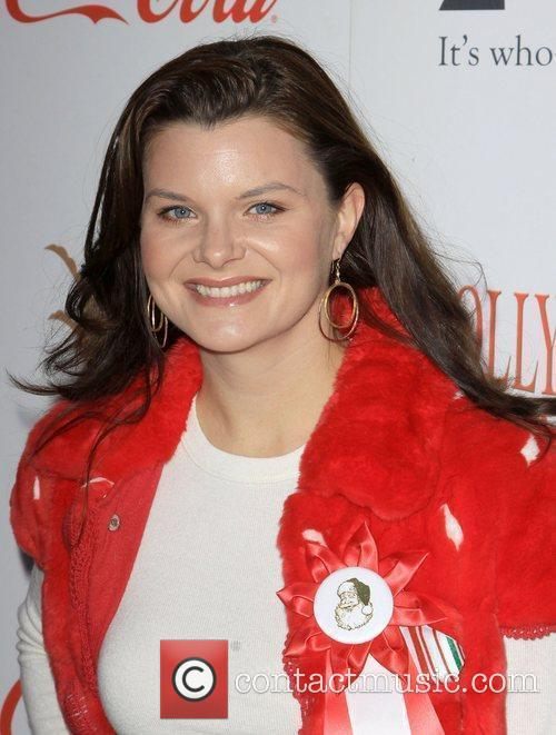 Heather Tom The 2009 Hollywood Christmas Parade/Live Positively...