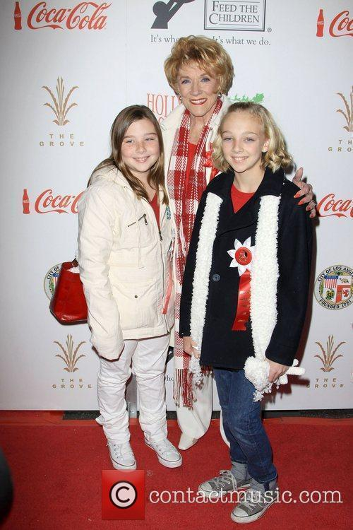 Jeanne Cooper and Grandkids The 2009 Hollywood Christmas...