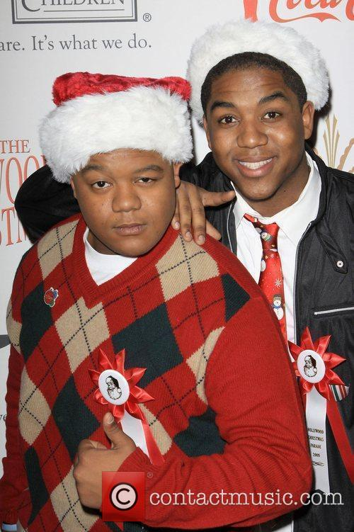 Kyle Massey and Chris Massey The 2009 Hollywood...