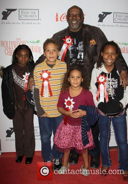 Louis Gossett Jr and Grandkids The 2009 Hollywood...