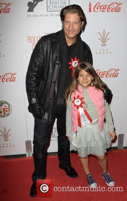 Sean Kanan and Guest The 2009 Hollywood Christmas...