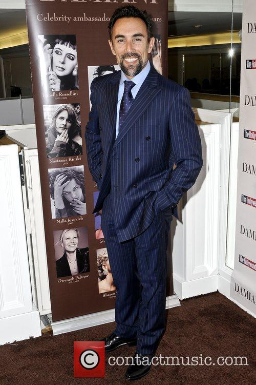 Francesco Quinn Damiani Diamonds & The Hollywood Reporter's...